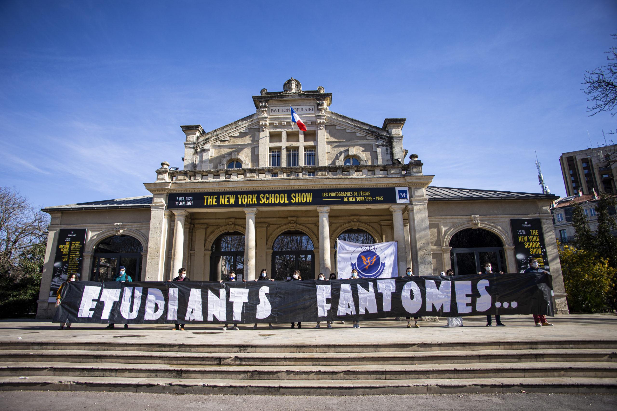 Manifestions Etudiants Fantômes Montpellier